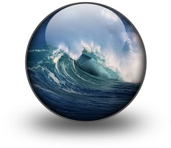 Ocean in bubble