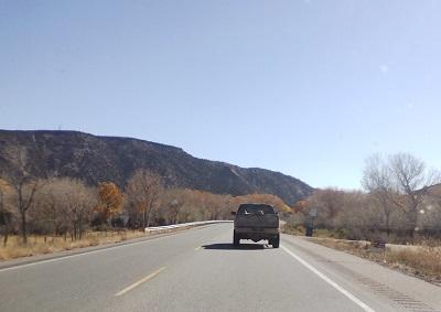 A beautiful fall drive into Hernandez, NM. (Image: Sandi Martinez)